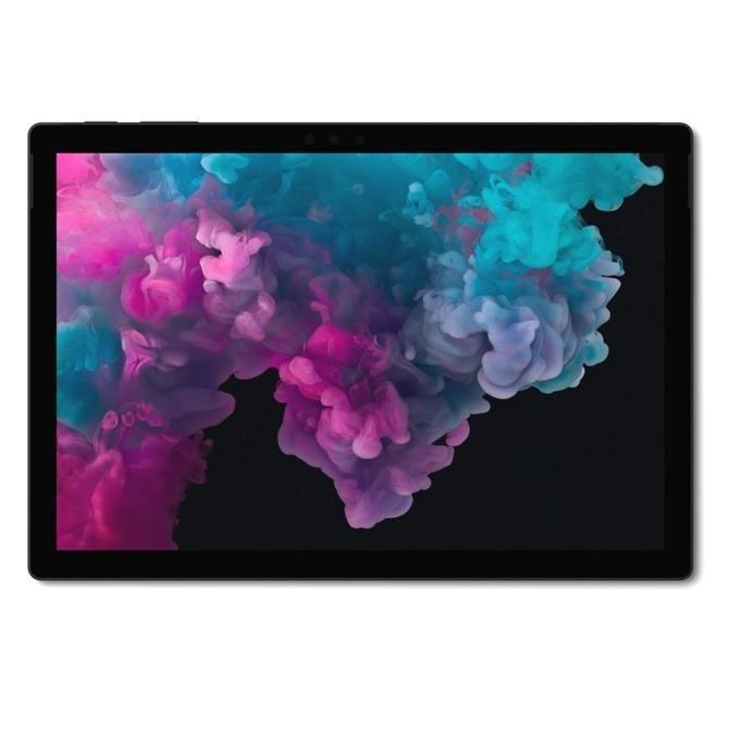 """Таблет Microsoft Surface Pro 6 (KJT-00024)(черен), 12.3"""" (31.24 cm) PixelSense дисплей, четириядрен Intel Core i5-8250U 1.6/3.4 GHz, 8GB RAM, 256GB SSD (+ microSD слот), 8.0 & 5.0 Mpix камера, Windows 10 Home, 770 g  image"""