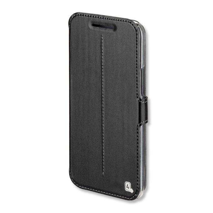 Калъф HTC 10, отваряем, еко кожа, 4smarts Supremo Book Flip Case, черен image