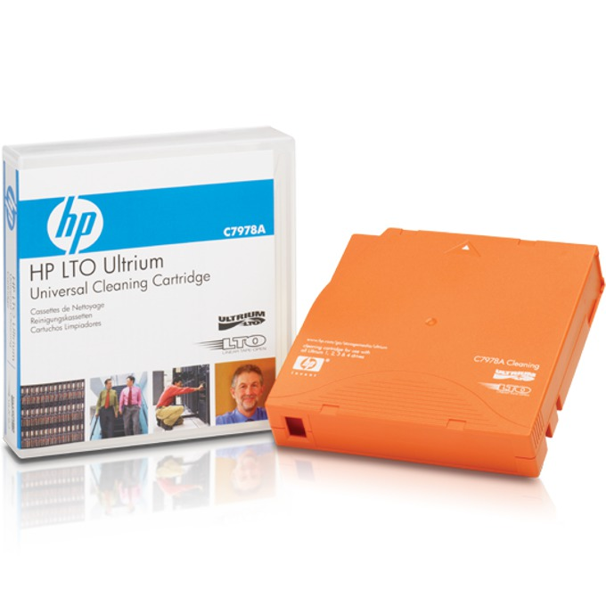 HP LTO Ultrium Universal Cleaning Cartridge