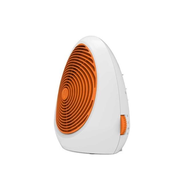 Вентилаторна печка Finlux FCH-520, 2000W, 2 степени на мощност, защита от прегряване, термостат, бяла-оранжева image
