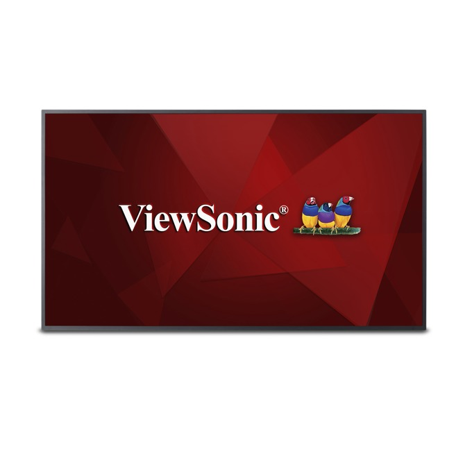 "Дисплей ViewSonic CDE5010, 50"" (127 cm), Ultra HD, HDMI, VGA, DVI-D, RS232, USB image"