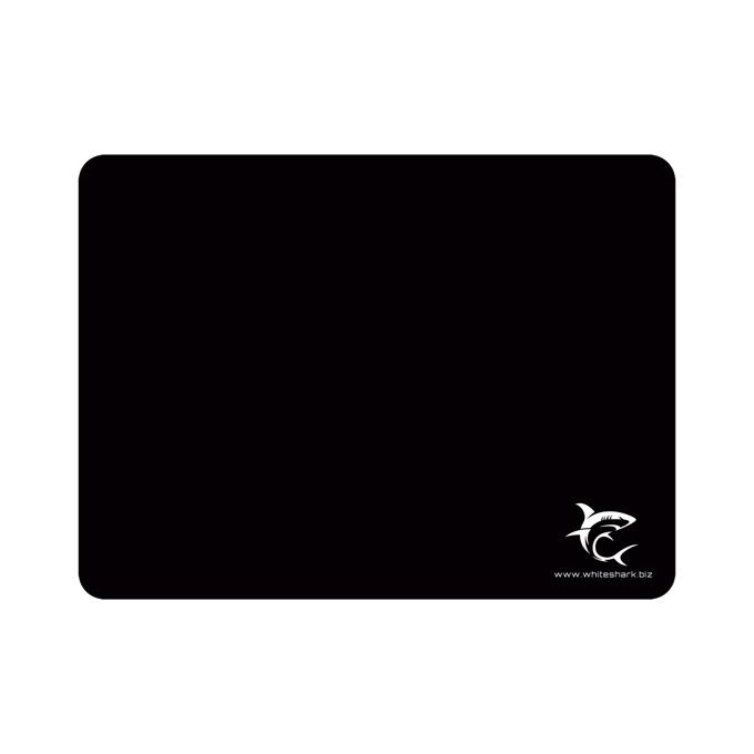 Подложка за мишка White Shark Control One, гейминг, черна, 400 x 300 mm image