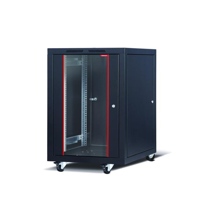 "Комуникационен шкаф Formrack CSM-20U60100, 19"", 20U, 600 x 1000 mm, черен image"