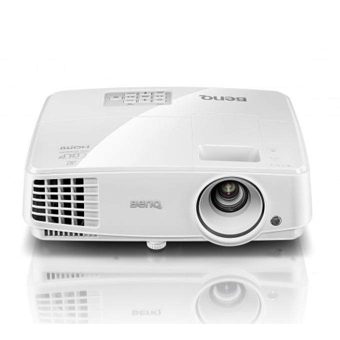 Проектор BenQ MS517H, DLP, SVGA (800x600), 13 000:1, 3300 lm, HDMI, RS232, 1x2W image