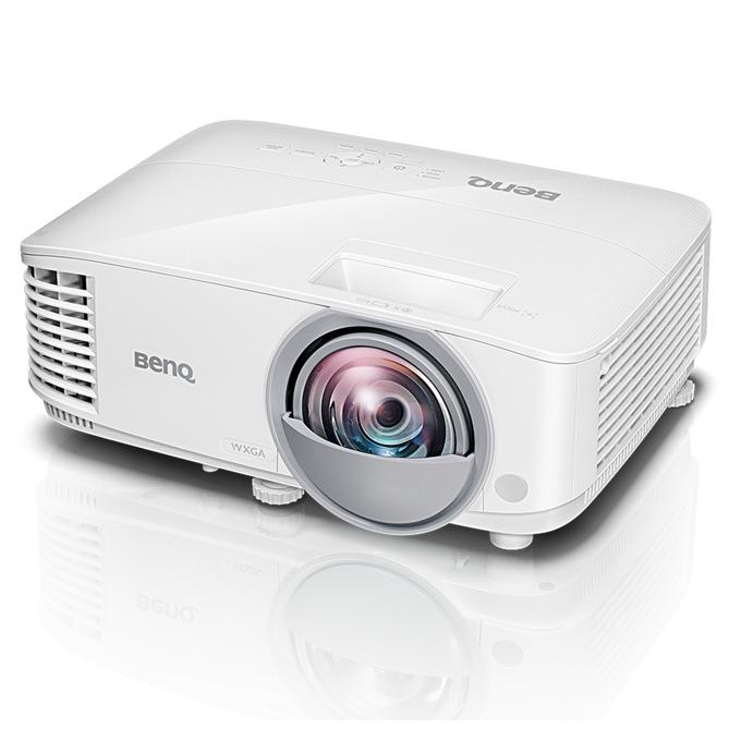 Проектор BenQ MW826ST, DLP, 3D Ready, WXGA (1280x800), 20,000:1, 3400 lm, 2x HDMI, 2x VGA, 1x RJ45, 1x USB A, 1x USB mini B image