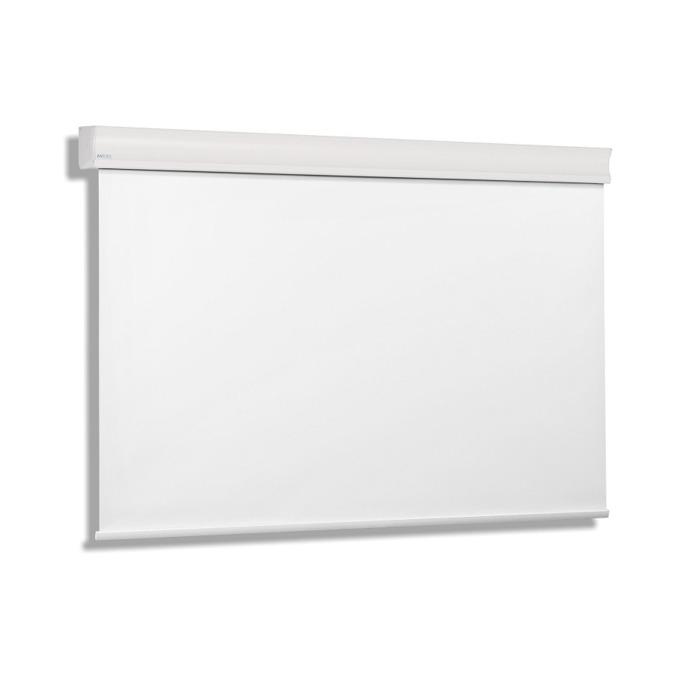 """Екран Avers CUMULUS 18-14 MW, стенен/таванен монтаж, Matt White, 180 x 135 см, 84"""" (213.36 cm), 4:3 image"""