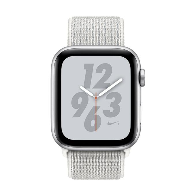 Смарт часовник Apple Watch Nike+ S4 44mm, OLED дисплей, водоустойчив, спортна каишка, сребрист image