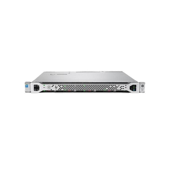 Сървър HPE ProLiant DL360 G9 818209-B21, 2x дванадесетядрени Intel Xeon E5-2650 v4 2.2/2.9GHz, 32GB DDR4 RDIMM, без HDD(8x bays), 1x VGA, 1x RJ-45, 5x USB 3.0, microSD слот, без OS, 2x 800W захранване image