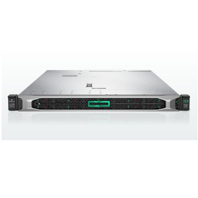 Сървър HPE ProLiant DL360 G10 (SOLUDL360-006), осемядрен Intel Xeon-Silver 4110 2.1GHz, 16GB RDIMM & 16GB 2Rx8 PC4, 4x 1.2TB SAS HDD & 2x 300GB SAS HD & 2x 480GB SATA SSD, DP, VGA, 4x 1GbE, 1x Micro SD, 5x USB 3.0, 2x 500W захранване image