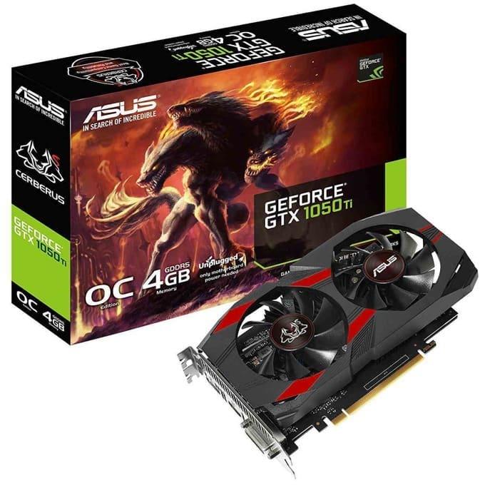 ASUS Cerberus GeForce GTX 1050Ti OC Edition 4GB