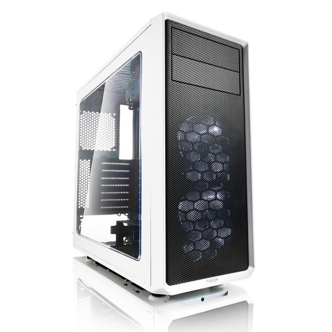 Кутия Fractal Design Focus G, ATX/mATX/ITX, USB 3.0, прозорец, бяла, без захранване image