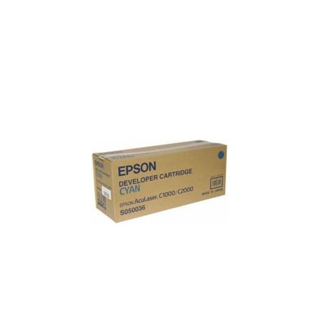 КАСЕТА ЗА EPSON AcuLazer C2000/C1000/C1000N - Cyan - P№  C13S050036 - заб.: 6000k image