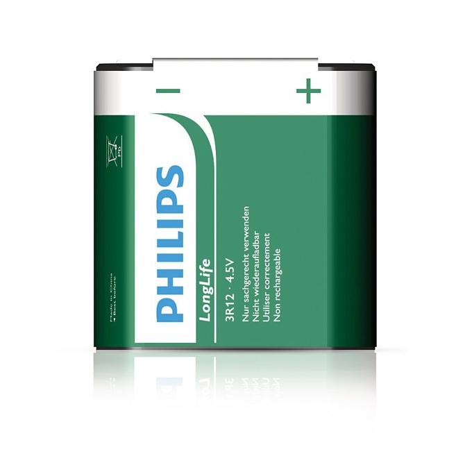 Батерия цинкова Philips Longlife, 4,5V, 1 бр.  image