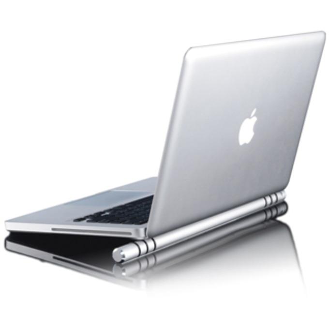 Охлаждаща поставка за лаптоп Just Mobile Cooling Bar, алуминиева, универсална  image