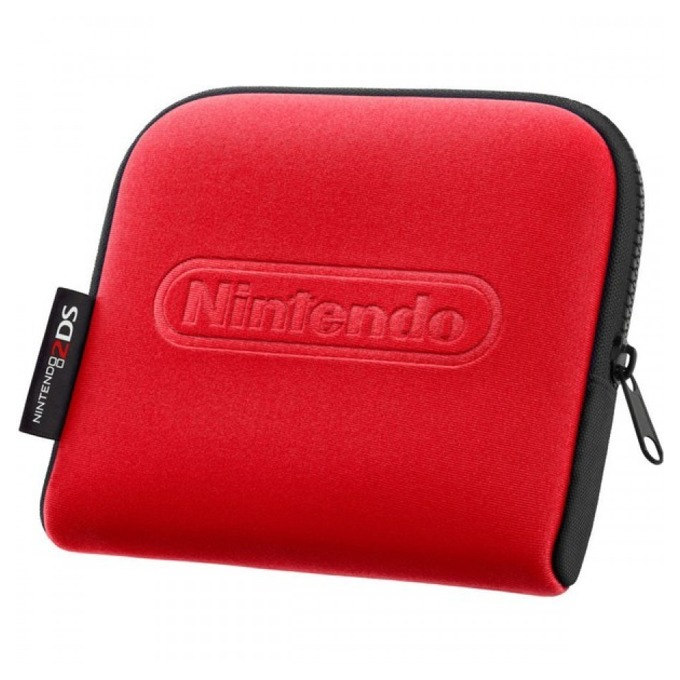 Nintendo 2DS Carrying Case Red product