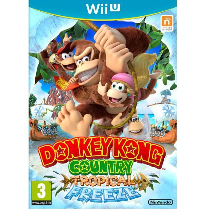 Игра за конзола Donkey Kong Country: Tropical Freeze, за Wii U image