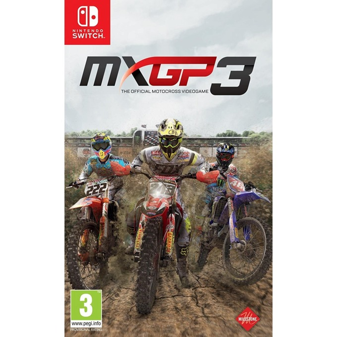 MXGP 3 - The Official Motocross Videogame, за Switch image