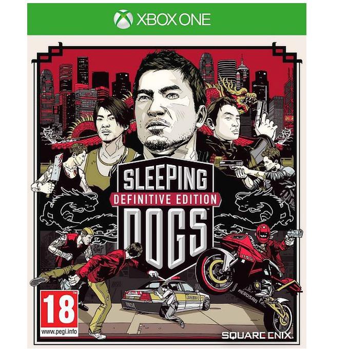 Sleeping Dogs: Definitive Edition - Limited Edition, съдържа специален артбуук с 28 страници, за XBOX ONE image