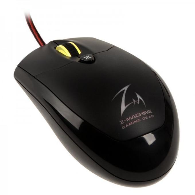 Мишка Zalman M600R, гейминг, оптична (4000 dpi), USB, подсветка, черна image