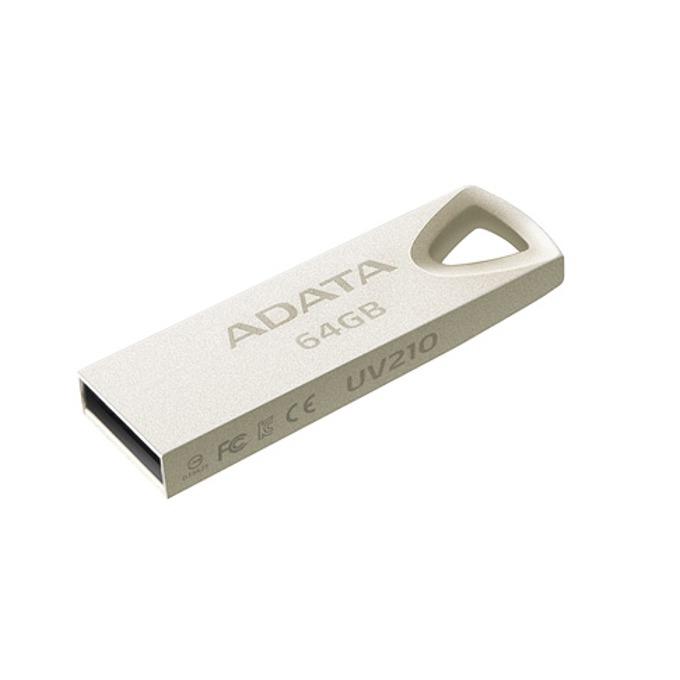Памет 64GB USB Flash Drive, A-Data UV210, USB 2.0, златиста image
