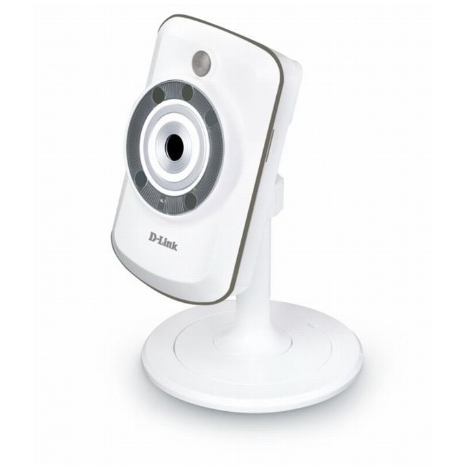 IP камера D-Link DCS-942L, 0.3Mpix, мрежова, Securicam, Day & Night,WPS, IR, ICR,PIR sensor, Micro SD slot image