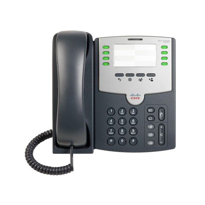 VoIP Телефон Cisco SPA501G 8 Line PoE and PC Port