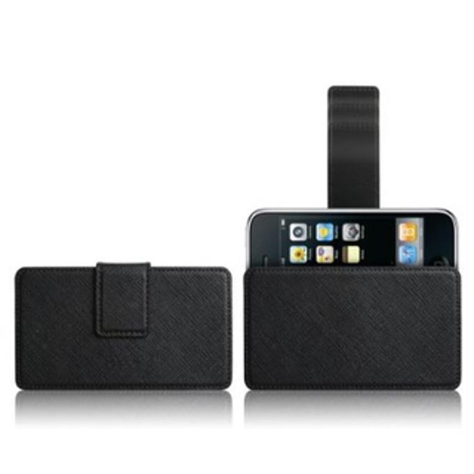 Калъф за колан Elago Slim Glide H за iPhone 4/4S, iPhone 3G/3Gs, кожен image