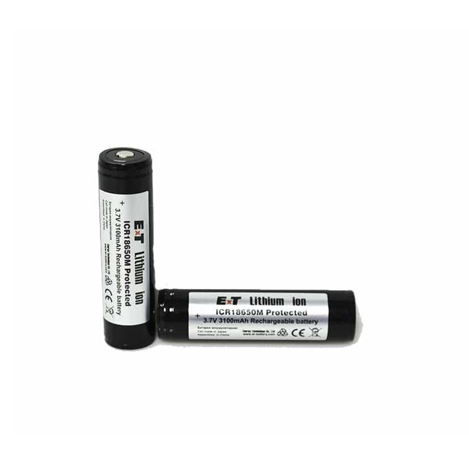 Акумулаторна батерия ICR18650M PCM, 18650, 3.7V, 3100mAh, Li-Ion, 1 брой image