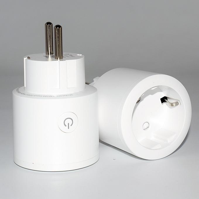 Смарт контакт Febite XS-SSB01, 3250W максимално натоварване, мониторинг на потреблението, Wi-Fi, бял image