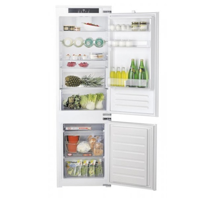 Хладилник с фризер Hotpoint-Ariston BCB 7030 EC AA, клас А+, 271 л. общ обем, бял image