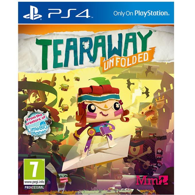 Игра за конзола Tearaway Unfolded, за PS4 image