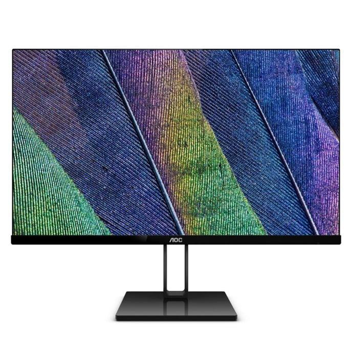 """Монитор AOC 22V2Q, 21.5""""(54.61 cm) IPS панел, Full HD, 5ms, 20M:1, 250 cd/m2, HDMI, DisplayPort image"""