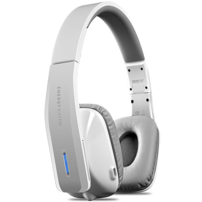 Слушалки Energy BT7 Bluetooth White, Bluetooth 4.0, 3.5мм жак, микрофон, бели image