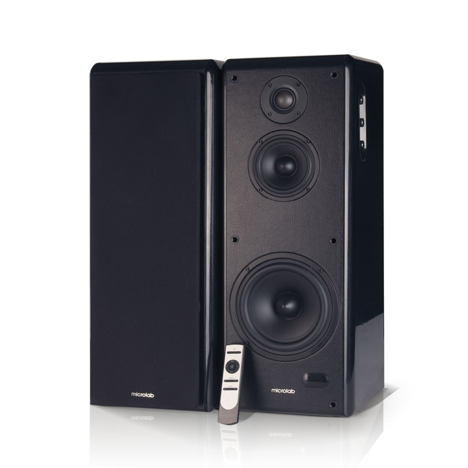 Тонколони Microlab SOLO 19, 200W RMS, Bluetooth, AUX, Toslink, черни image