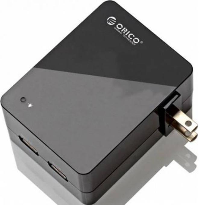 Зарядно устройство Orico DCA-2U-BK, от US (Type-A) към 2x USB A(ж), черно image