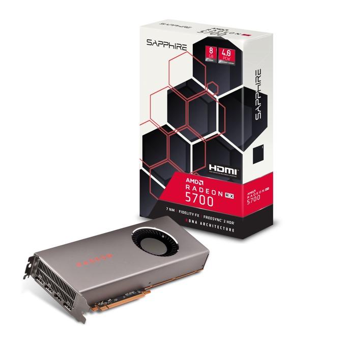 Видео карта AMD Radeon RX 5700, 8GB, Sapphire, PCI-E 4.0, GDDR6, 256 bit, DisplayPort, HDMI image