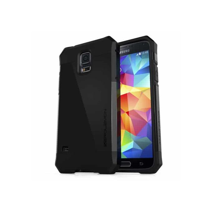 Протектор Zerolemon за Samsung Galaxy S5, черен (матов) image