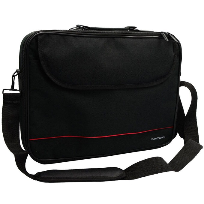 "Чанта за лаптоп Kingsons Jet Series (325W) за лаптопи до 15.6"" (39.62 cm), черна image"
