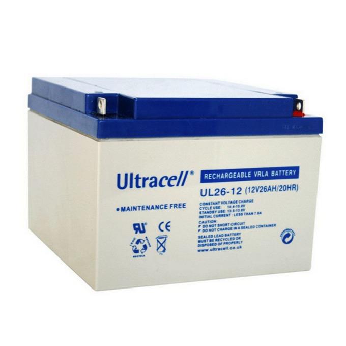 Акумулаторна батерия Ultracell 26-12, 12V, 26Ah image