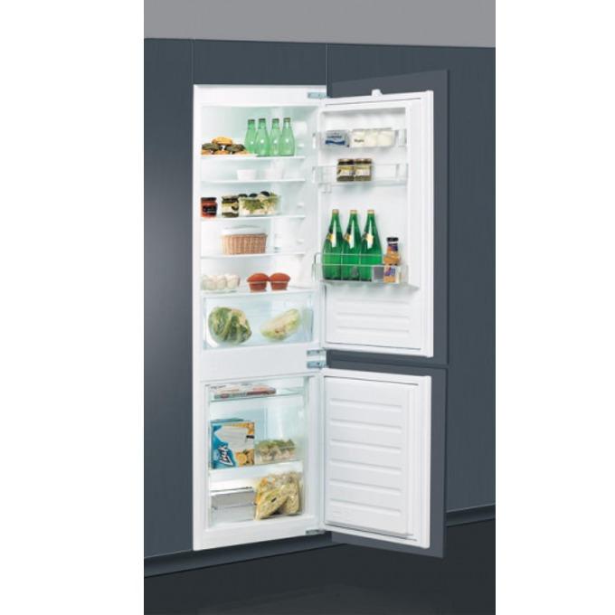 Хладилник с фризер Whirlpool ART6502/A+, клас А+, 275 л. общ обем, за вграждане, 299 kWh/годишно, механично управление, бял image