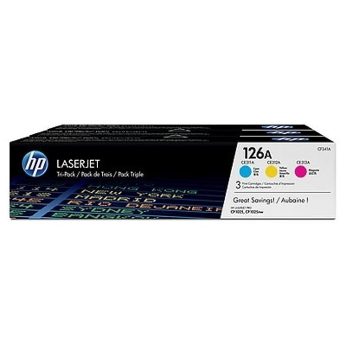 HP 126A (CF341A) Cyan/Magenta/Yellow product