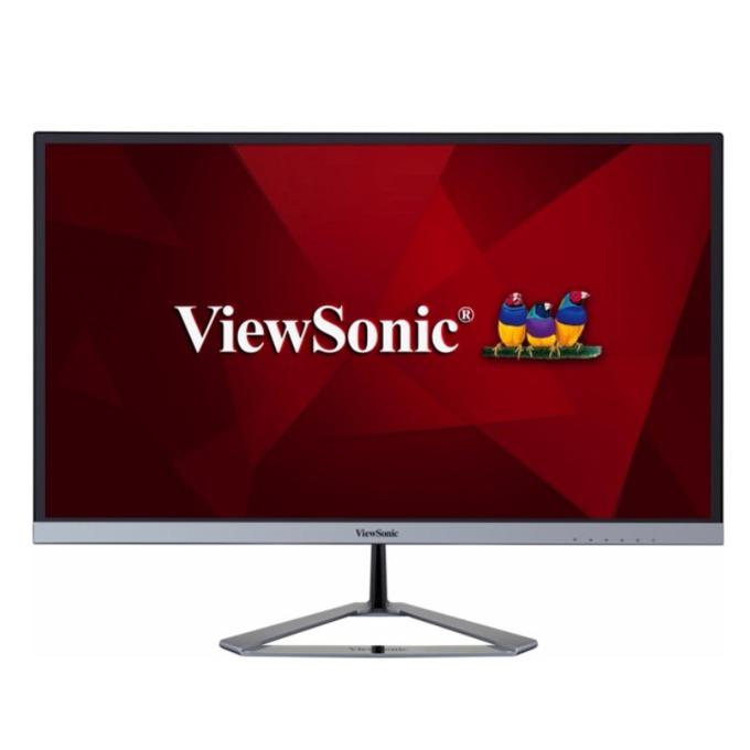 """Монитор ViewSonic VX2476-SMHD, 23.8"""" (60.45 cm)AH-IPS панел, Full HD, 4ms, 80M:1, 250 cd/m2, HDMI, DisplayPort, VGA image"""