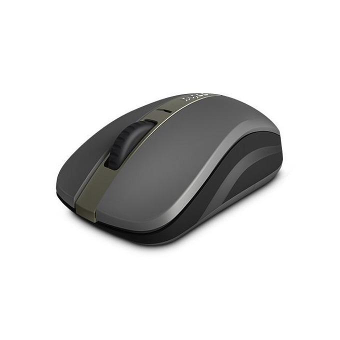 Мишка Rapoo 6610M, оптична (1300dpi), безжична, Bloetooth, сива image