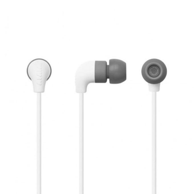 Слушалки AIAIAI Pipe, микрофон, бутон за разговори, Noise isolation, 135mm кабел, 3.5mm жак, бели image