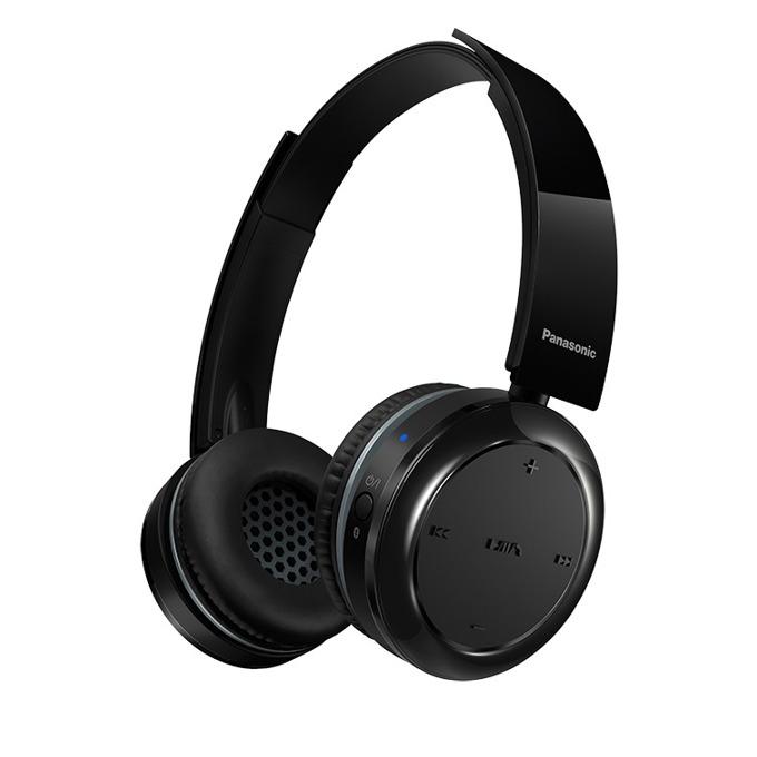 Слушалки Panasonic RP-BTD5E, безжични, черни image