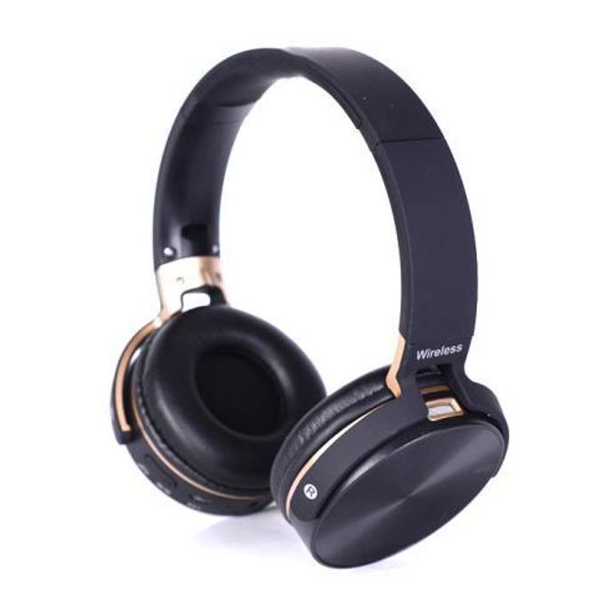 Слушалки Royal 950BT, безжични, Bluetooth, микрофон, MP3 плеър, FM радио, SD card слот, черни image