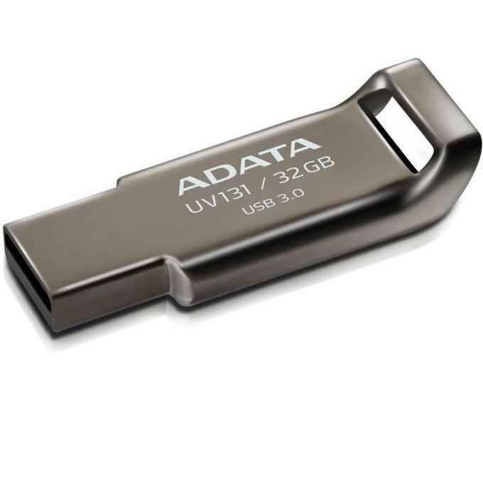 Памет 32GB USB Flash Drive, A-Data DashDrive UV131, USB 3.0, сребриста image