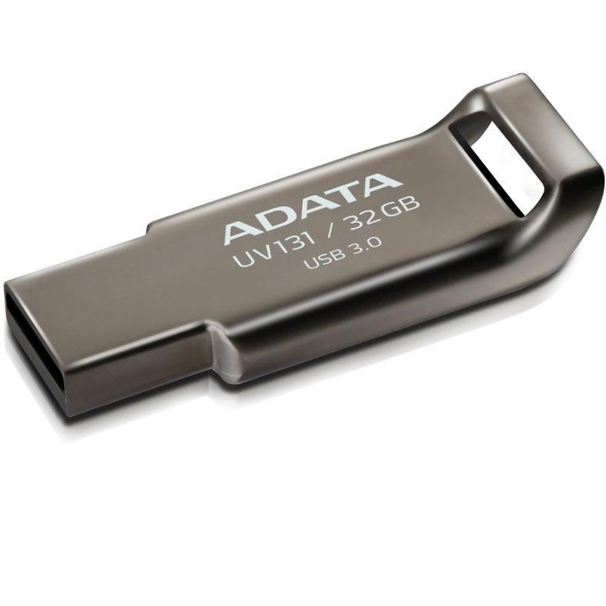 Памет 32GB USB Flash Drive, A-Data DashDrive UV131, USB 3.0, сребриста image