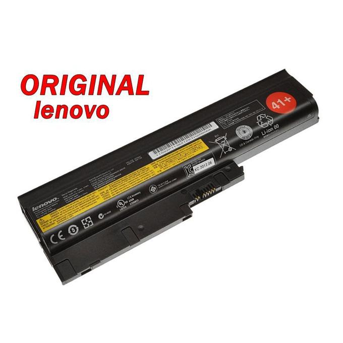 Батерия (оригинална) IBM Thinkpad T60, съвместима с R60/R61/T61/Z60/Z61 (без 14.1), 6cell, 10.8V, 5200mAh image
