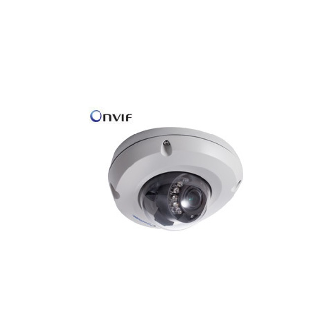 IP камера GEOVISION EDR1100-2F, 1.3Mpx, Mini Fixed Rugged Dome, 3.80мм обектив, PoE, H.264, WDR image